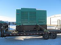 230 kw Onan Loaded on Truck (Reliable Hosting Services - Berkeley Spring, WV) 12-17-13 (1)